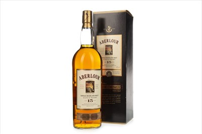 Lot 1304-ABERLOUR AGED 15 YEARS - ONE LITRE