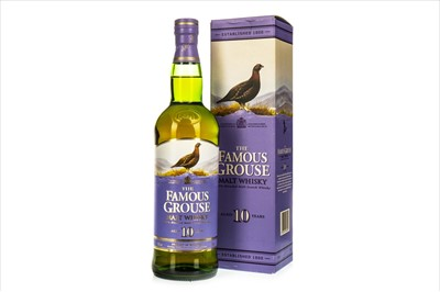 Lot 1306-FAMOUS GROUSE MALT AGED 10 YEARS