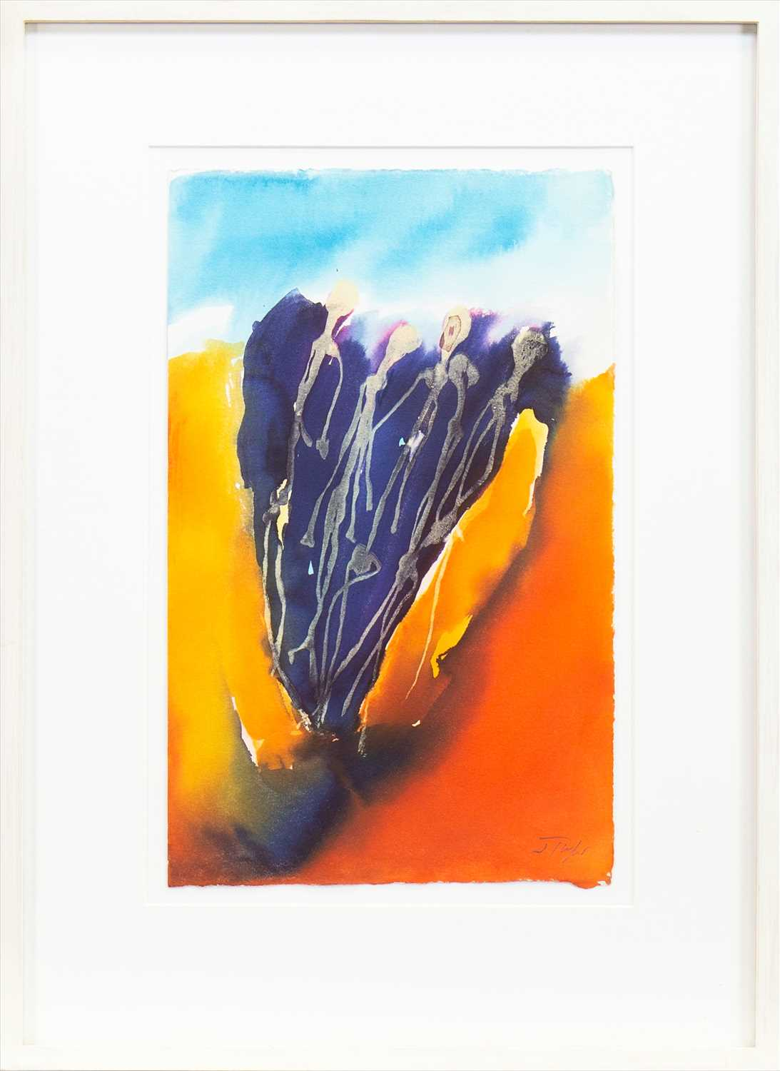 Lot 502-FROM THE EARTH, A WATERCOLOUR BY JOHN TAYLOR