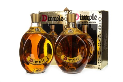 Lot 1412-TWO BOTTLES OF DIMPLE