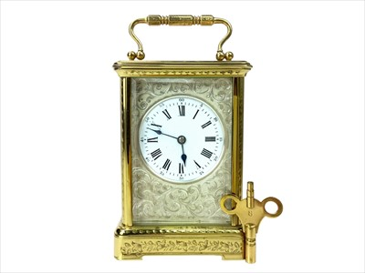 Lot 1115-A LATE 19TH CENTURY FRENCH CARRIAGE CLOCK