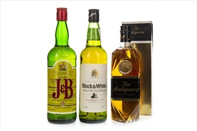 Lot 1409-J&B RARE, BLACK & WHITE AND ANTIQUARY