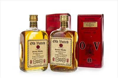 Lot 1415-TWO BOTTLES OF OLD VATTED 8 YEARS OLD