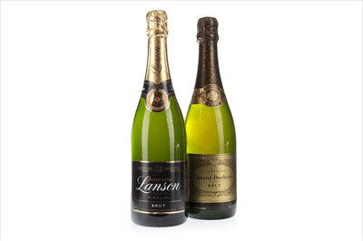 Lot 2014-LANSON BLACK LABEL AND CANARD-DUCHENE