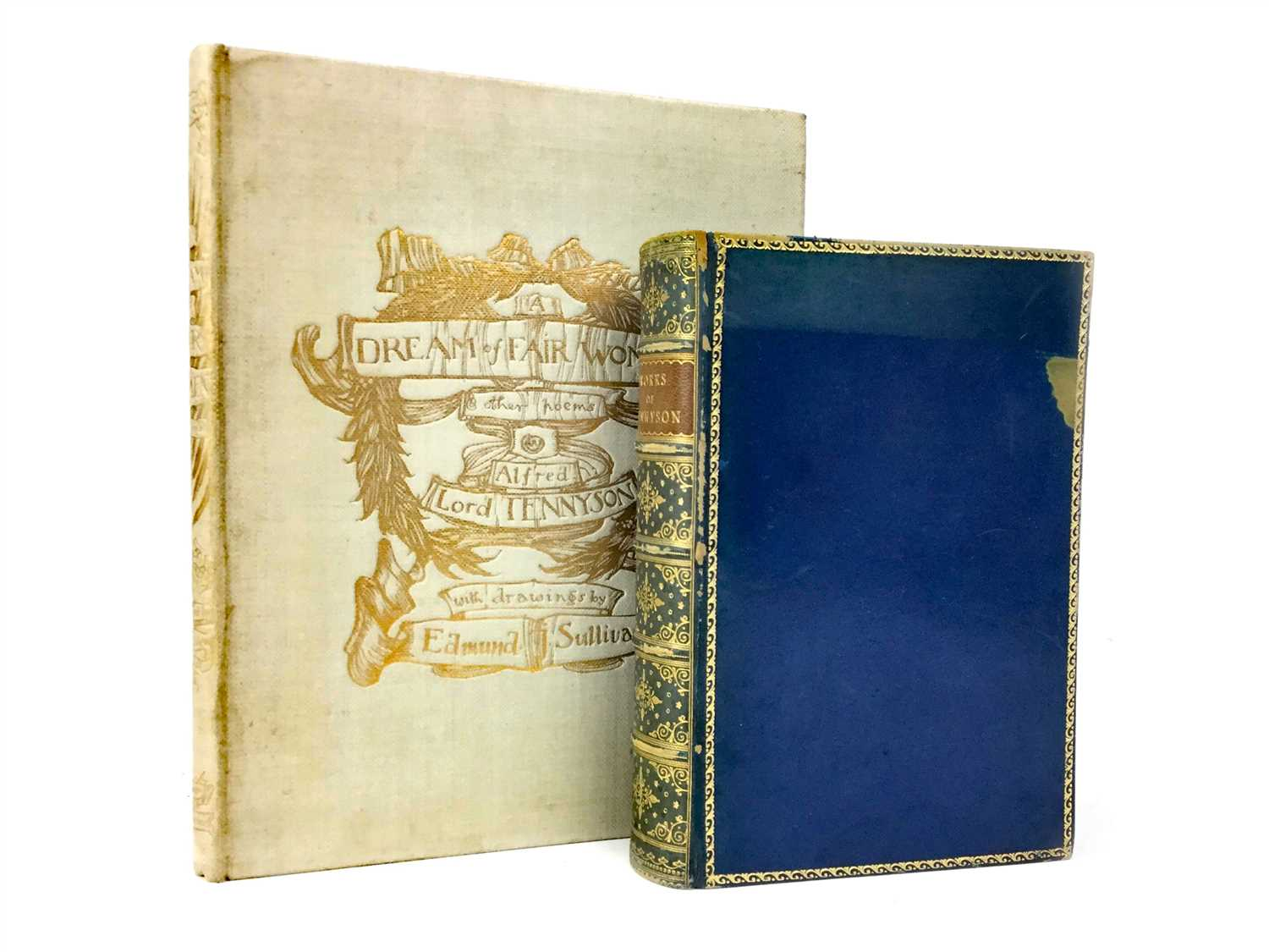 Lot 891-A DREAM OF FAIR WOMEN, BY ALFRED LORD TENNYSON, ALONG WITH THE WORKS OF TENNYSON