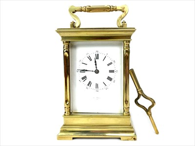 Lot 1116-A LATE VICTORIAN FRENCH CARRIAGE CLOCK BY HENRY MARC