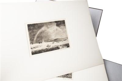Lot 720-TWENTY ETCHINGS OF AYRSHIRE, BY GEORGE HOUSTON