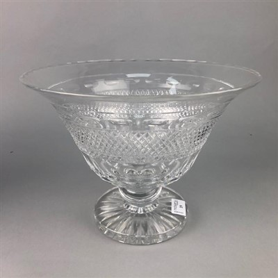 Lot 19-A CHRISTOFLE CRYSTAL FOOTED BOWL