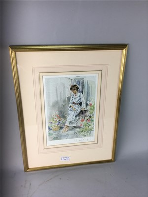 Lot 49-A LOT OF THREE SIGNED LIMITED EDITION COLOUR PRINTS BY GORDON KING