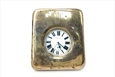 Lot 1120-AN EDWARDIAN SILVER CASED TIMEPIECE