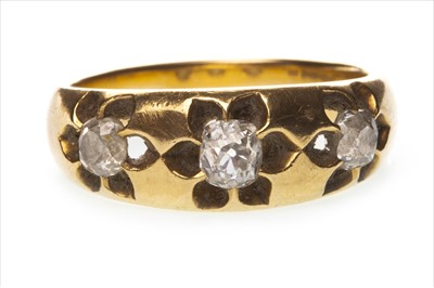 Lot 1316-A VICTORIAN DIAMOND RING