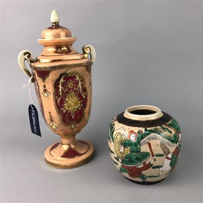 Lot 28-A LOT OF CERAMICS INCLUDING ASIAN AND OTHER ITEMS