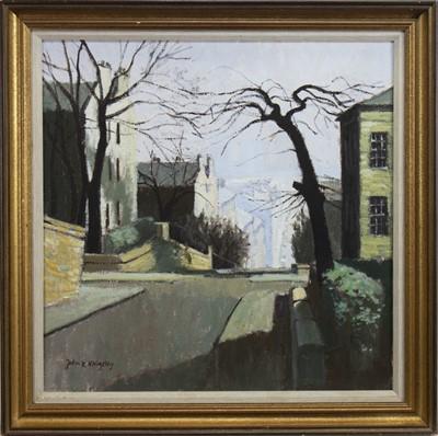 Lot 3-GIBSON STREET, HILLHEAD, GLASGOW, AN OIL BY JOHN KINGSLEY