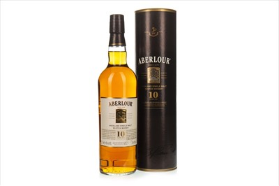 Lot 1323-ABERLOUR 10 YEARS OLD