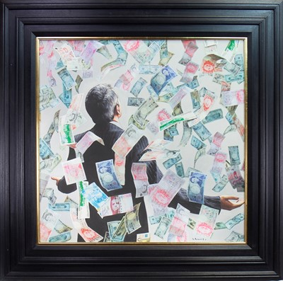Lot 525-MONEY, A GICLEE PRINT AFTER GERARD BURNS