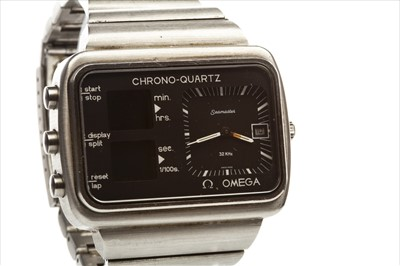 Lot 766-A GENTLEMAN'S OMEGA CHRONO-QUARTZ WATCH