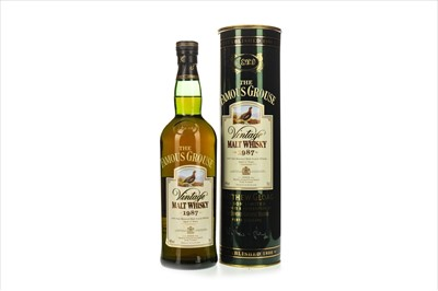 Lot 1322-FAMOUS GROUSE 1987 MALT AGED 12 YEARS