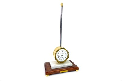 Lot 1123-A REPRODUCTION RACK CLOCK BY T.W. BAZELEY