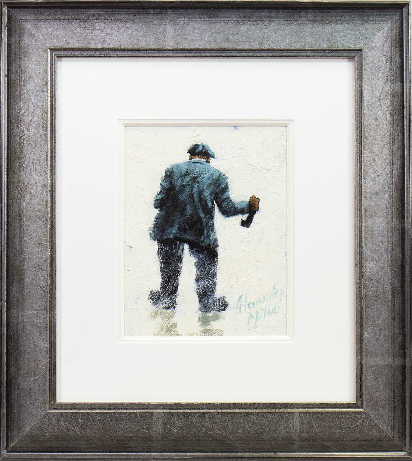 Lot 508-SWAYING IN THE BREEZE, AN OIL BY ALEXANDER MILLAR