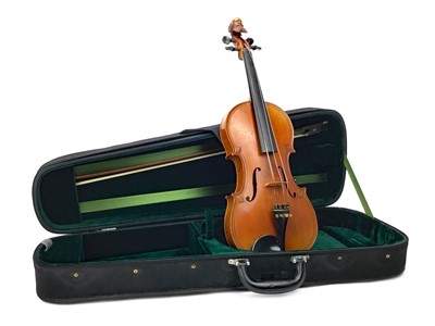 Lot 1150 - A 19TH CENTURY VIOLIN BY HONORE DERAZEY