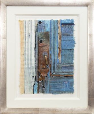 Lot 50-IN WITH THE WOODWORK, A WATERCOLOUR BY ANGUS MCEWAN