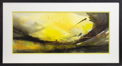Lot 71 - DAWN SUNRISE, A MIXED MEDIA BY MAY BYRNE