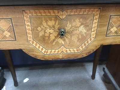 Lot 1612 - AN ATTRACTIVE VICTORIAN ROSEWOOD, WALNUT, MARQUETRY AND GILTMETAL BONHEUR DU JOUR