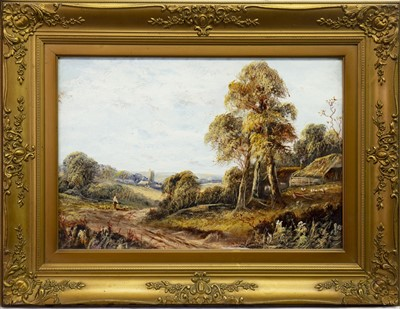 Lot 418-A PAIR OF 19TH CENTURY OIL PAINTINGS
