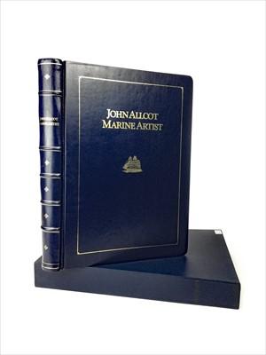 Lot 1621-A JOHN ALLCOT MARINE ARTIST BOOK OF COLOUR PRINTS