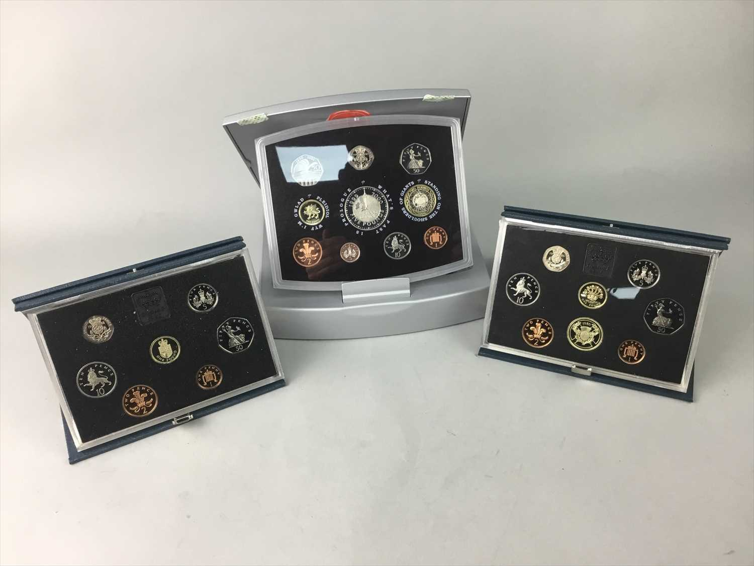 Lot 5-A LOT OF ANNUAL PROOF COINAGE SETS