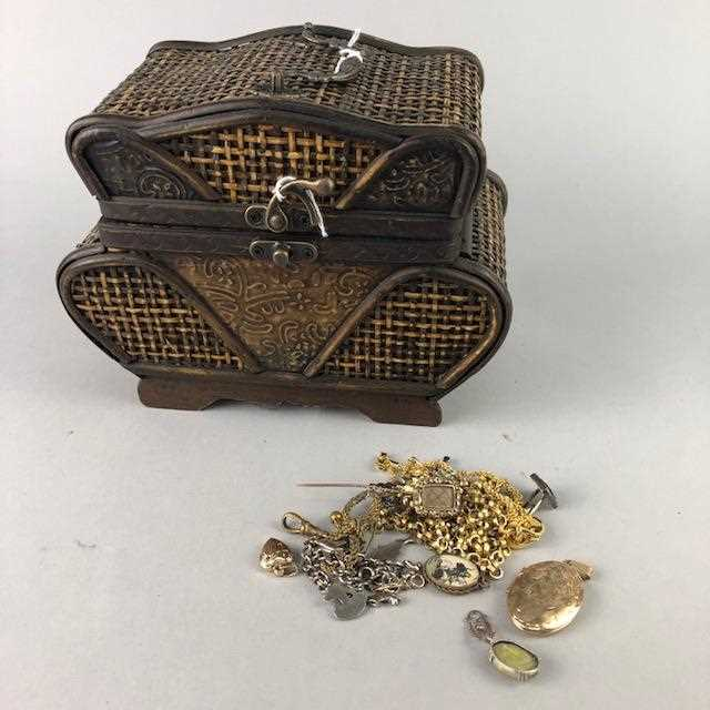 Lot 13-A LOT OF VINTAGE COSTUME JEWELLERY