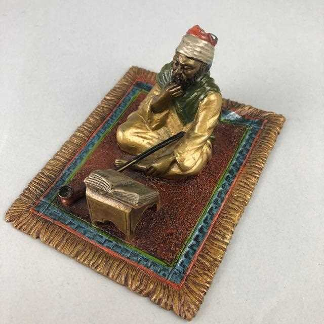 Lot 24-A COLD PAINTED BRONZE FIGURE