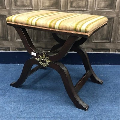 Lot 1634-A 19TH CENTURY DRESSING STOOL