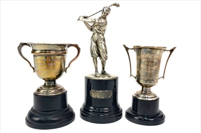 Lot 1722-GOLFING INTEREST - THREE EARLY 20TH CENTURY GOLFING TROPHIES