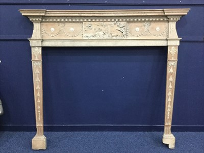 Lot 1603-A VICTORIAN ADAM STYLE FIRE SURROUND