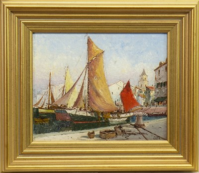 Lot 426-BRITTANY, AN OIL BY JAMES GREIG