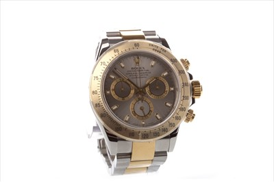 Lot 753 - A GENTLEMAN'S ROLEX DAYTONA WRIST WATCH