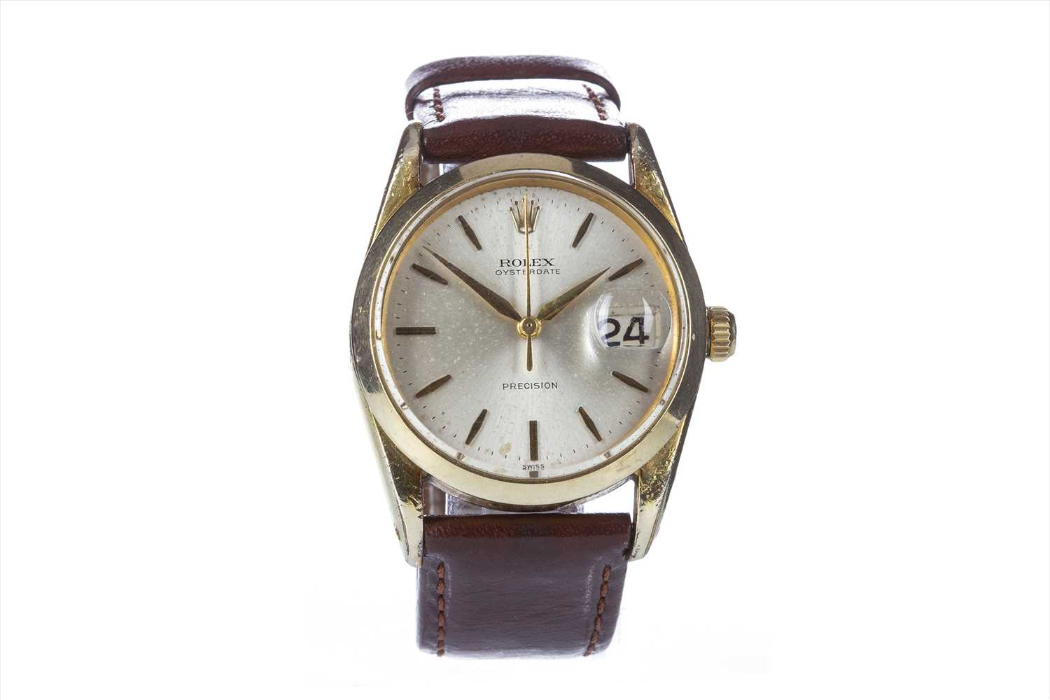 Lot 770-A GENTLEMAN'S ROLEX OYSTERDATE PRECISION WATCH