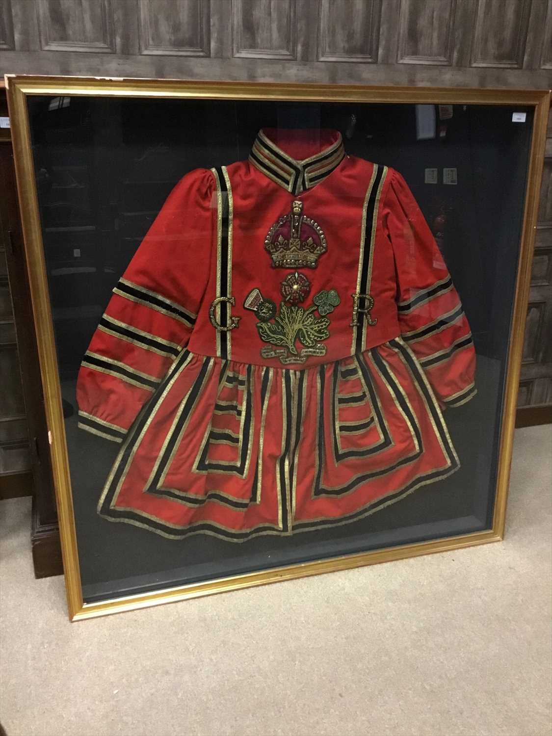 Lot 1604-A KING GEORGE CRIMSON BEEFEATER TUNIC