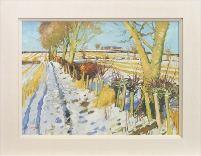 Lot 45-WINTER AT FOULPAPPLE, BY DOUGLAS LENNOX