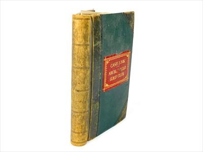 Lot 1724-THE ARCHERFIELD GOLF CLUB'S CASH BOOK