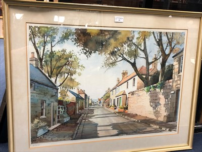Lot 22-A LOT OF FIVE WATERCOLOURS BY R J NAISMITH