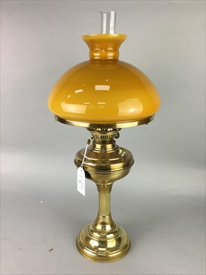 Lot 26-AN EARLY 20TH CENTURY OIL LAMP