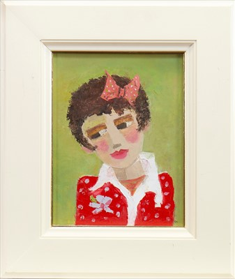 Lot 504-DOLORES, AN OIL BY CATRIONA MILLAR