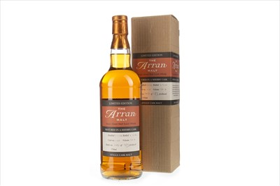 Lot 1-ARRAN 1998 SINGLE CASK 110