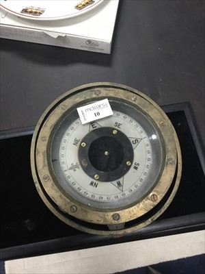 Lot 10-A SHIP'S GIMBLE COMPASS