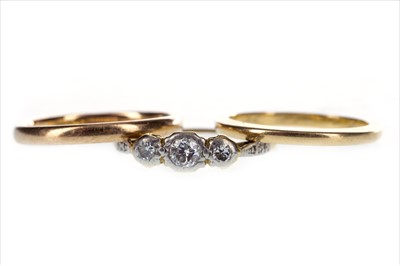 Lot 266-THREE RINGS