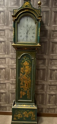 Lot 1104-A LATE 18TH CENTURY PAGODA TOPPED GRANDFATHER CLOCK CASE