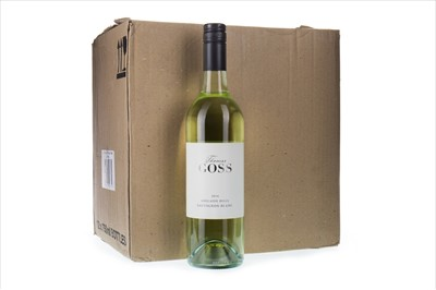 Lot 2020-TWELVE BOTTLES OF THOMAS GOSS 2014 SAUVIGNON BLANC