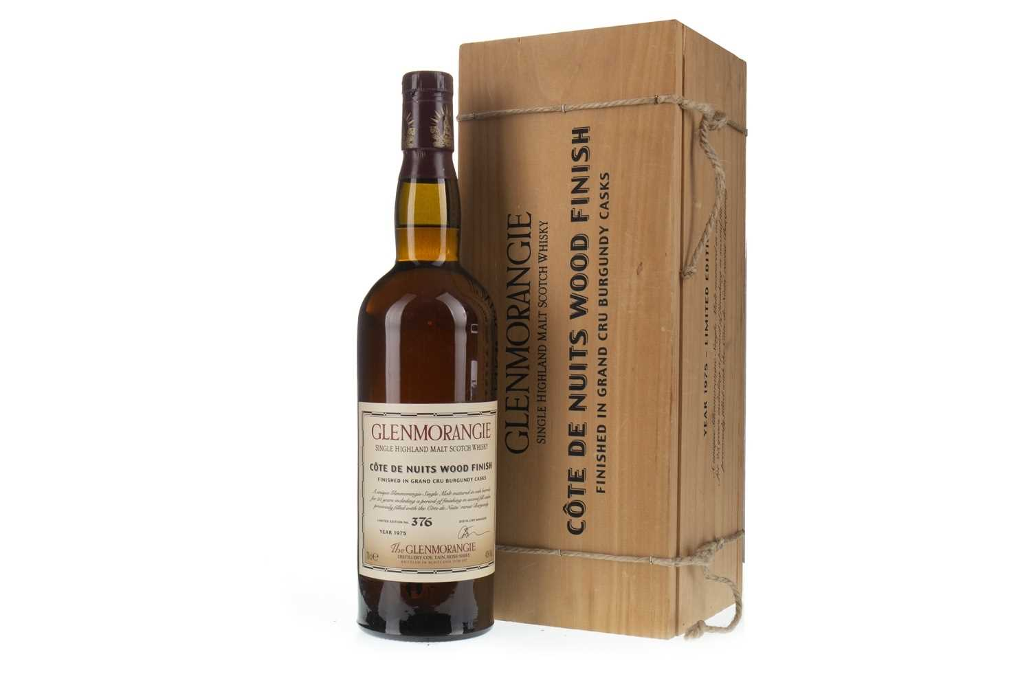 Lot 6-GLENMORANGIE 1975 COTES DE NUITS AGED OVER 25 YEARS